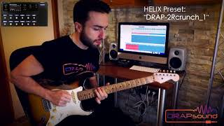 "Commercial Preset: ""DRAP-2Rcrunch_1"" for HELIX (isolated track)"