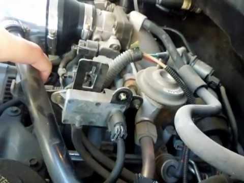 1997 Ford Expedition 54L V8 Triton Differential Pressure