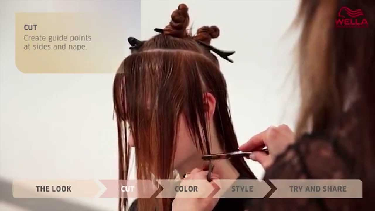 Create The Look Powdered Red Using Wella Blondor Freelights Color