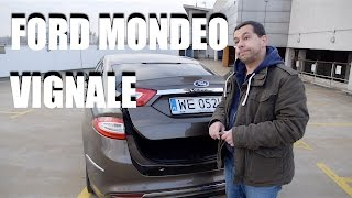 Ford Mondeo Vignale (ENG) - Test Drive and Review