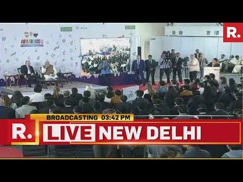 Putin And PM Modi Interact With Students   #PutinInIndia
