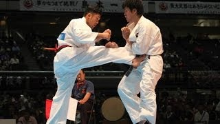 THE 45TH ALL JAPAN OPEN KARATE TOURNAMENT men 2nd round Kazufumi Sh...