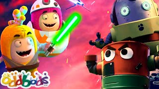 ODDBODS   Oddbods' Galactic Battle With The Bad Batch   Funny Videos