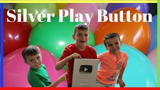 Joshuas FunVideo SILVER PLAY BUTTON 100,000 subs and MEGA HUGE BALLOONS Worlds Biggest Balloons