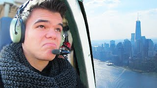 FLYING A HELICOPTER IN NEW YORK CITY! (VLOG)