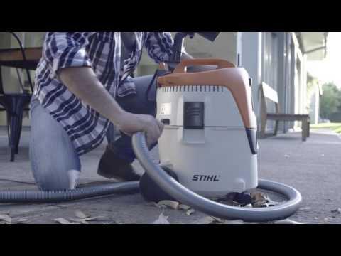 Колесный пылесос STIHL SE 62 E