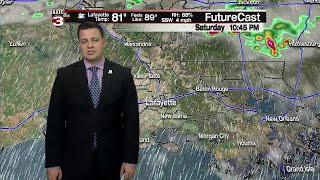 Daniel's Friday 10pm Weather Forecast