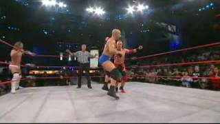 TNA Impact 16/3/10 Christopher Daniels & Brian Kendrick vs Amazing Red & Kazarian (HD)