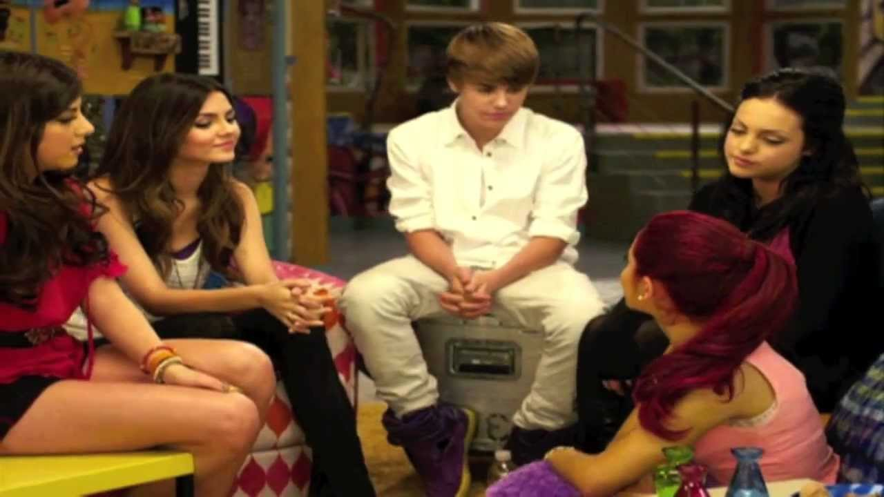 justin bieber chats to the victorious cast part 2 youtube