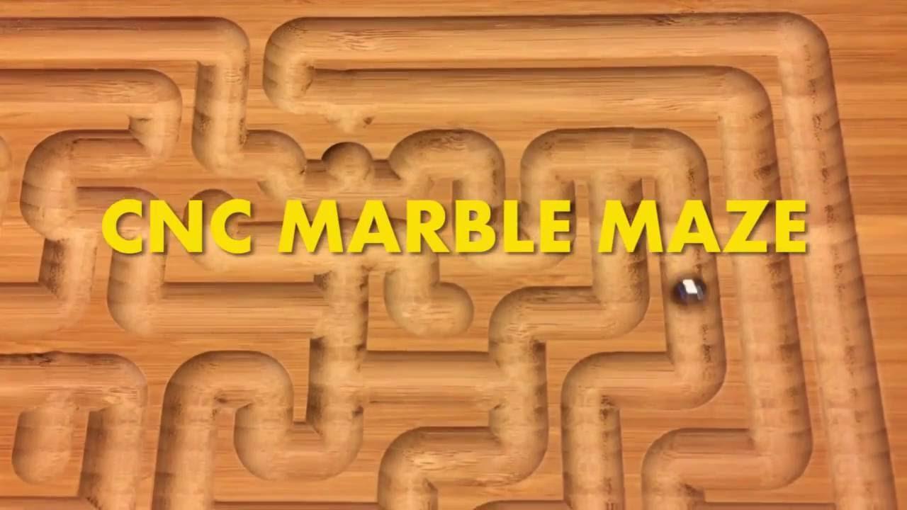 Shapeoko Cnc Marble Maze Youtube