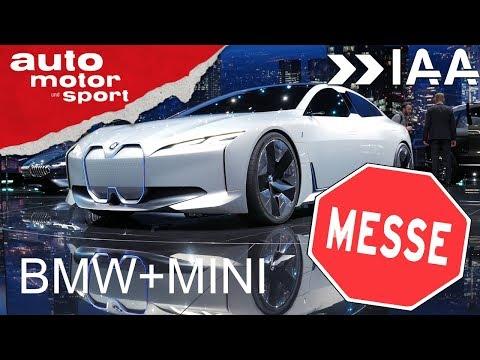 IAA 2017 – der BMW und Mini Stand | auto motor und sport