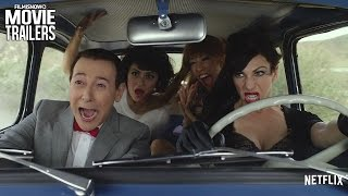 Pee-wee Herman takes his first-ever holiday - PEE-WEE'S BIG HOLIDAY Full online - Netflix [HD]
