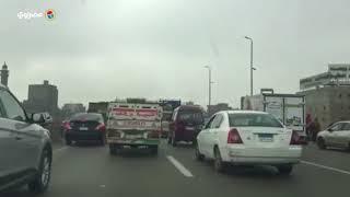 ازدحام و تكدس مروري علي طريق