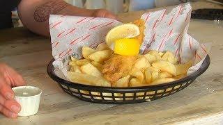 В лондонском кафе подают рыбу и гамбургеры, в которых нет рыбы и мяса