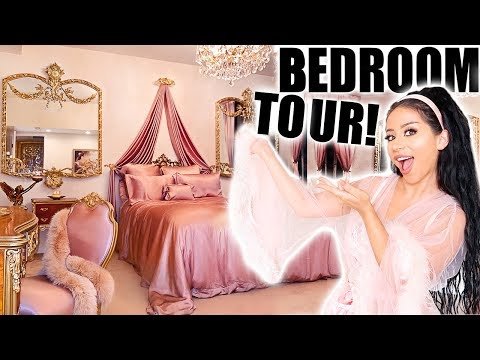 MY VERY #EXTRA BEDROOM TOUR! thumbnail