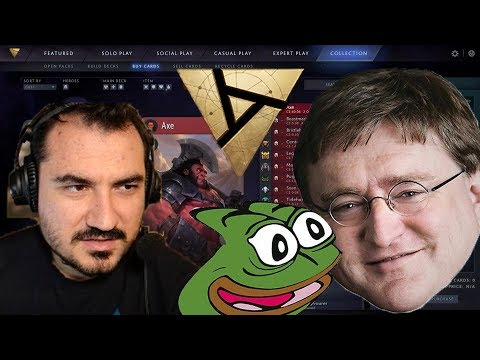 BUY HIGH SELL LOW PEPEGA | Kripp Shows How Bad Artifact Economy Is