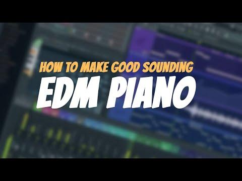 How To Make Good Sounding EDM Piano | With FLEX | FL Studio Tutorial