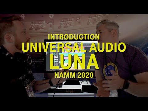 Universal Audio Luna Introduction - NAMM 2020