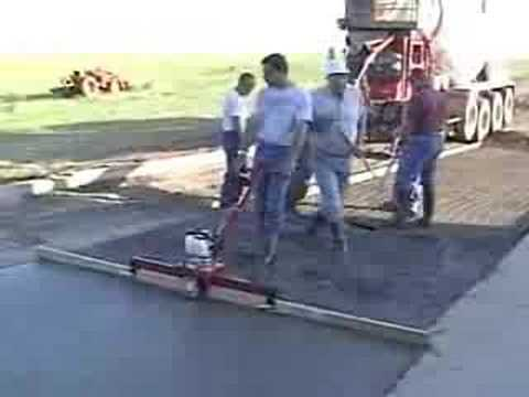 Concrete Screed 5 Youtube
