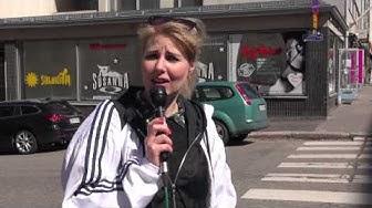 Vaasankatu-katuvideot: Hierontayrittäjän haastatteluyritys
