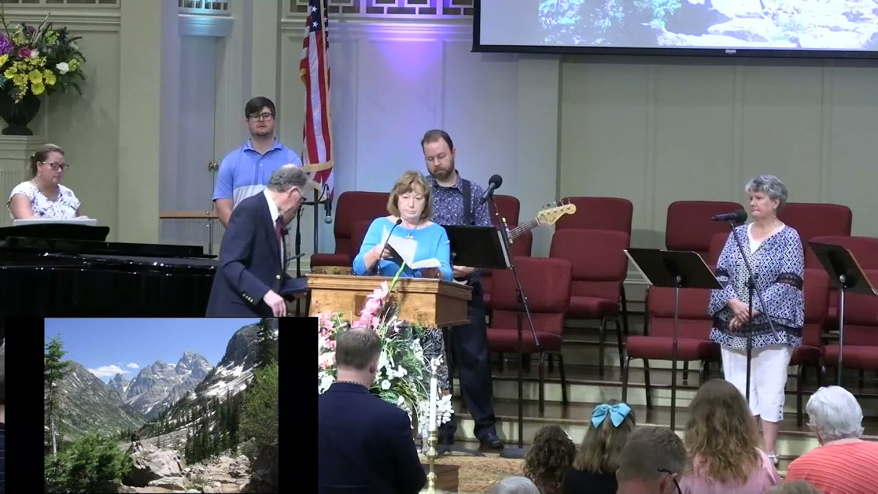 July 18, 2021 Service [Trimmed] at First Baptist Thomson, Streaming License 201531172