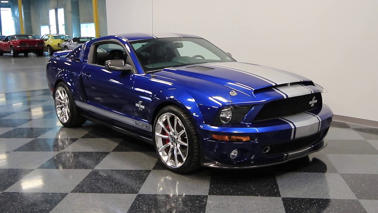 56 PHX 2007 Ford Mustang Shelby GT500 Super Snake - YouTube