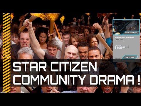 Star Citizen Drama over concept ship sale!