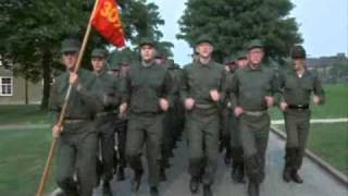 Military Cadences USMC  1 2 3 4 I Love The Marine Corps.wmv