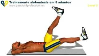 Abdominal em 8 minutos Nível 2