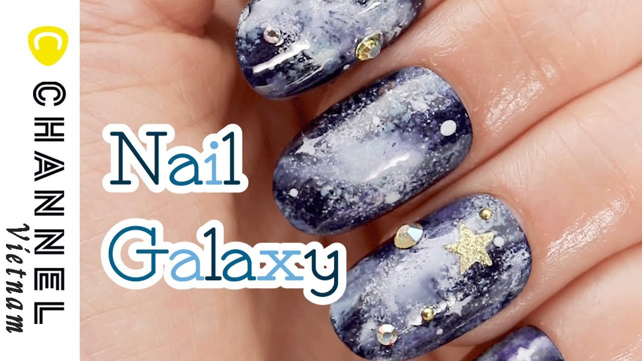 Nail Galaxy xinh xuất sắc quá sang chảnh