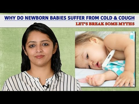 Why Do Newborn Babies Suffer From Cold & Cough?