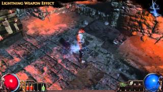 Path of Exile - Lightning Weapon Effect