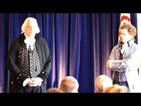 Hamilton, Jefferson, and Washington Debate HD