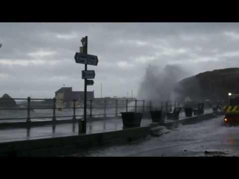 Portpatrick Storm Surge 2014-01-03