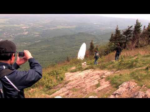 Hang Glider Crash on Mount Greylock!