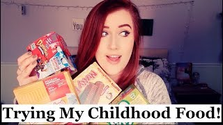 Trying My Childhood Foods!