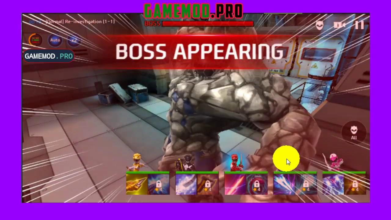 Power Rangers: All Stars Mod | x100 DMG | Weak Enemy | Menu Mod -  GameMod Pro