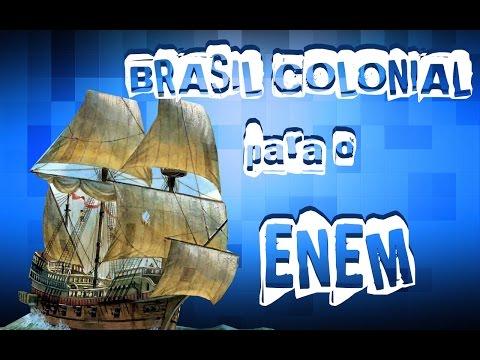 Aulão de Brasil Colonial para o ENEM