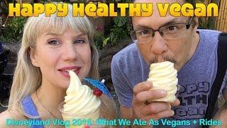 Disneyland Vlog: What We Ate + Rides Galore! (2016)