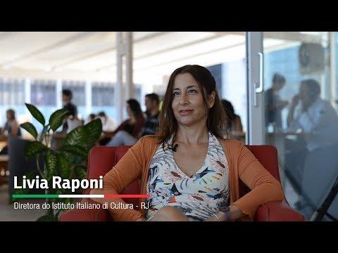 ENTREVISTA - Livia Raponi (Diretora do Istituto Italiano di Cultura RJ)
