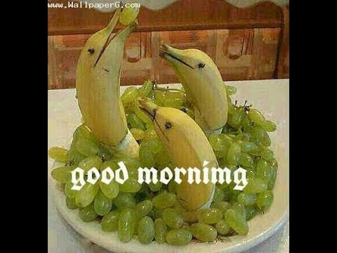 Amazing good morning greetings with fruits wishes quotes ecards