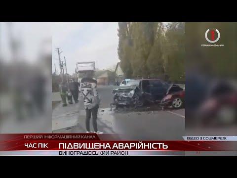 Водій чи пішохід хто частіше стає винуватцем автопригод на Виноградівщині