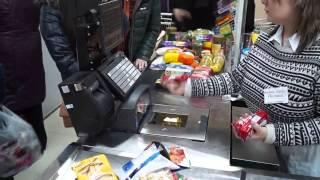Как работает касса в магазинах Едоша