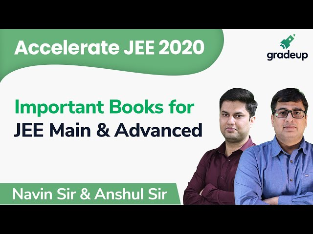JEE 2020 | Class 6 | Important Books for JEE Main