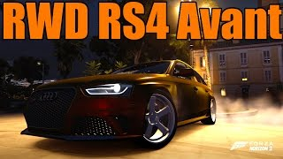 Forza Horizon 2 | Audi RS4 Avant RWD Swap Drift Build