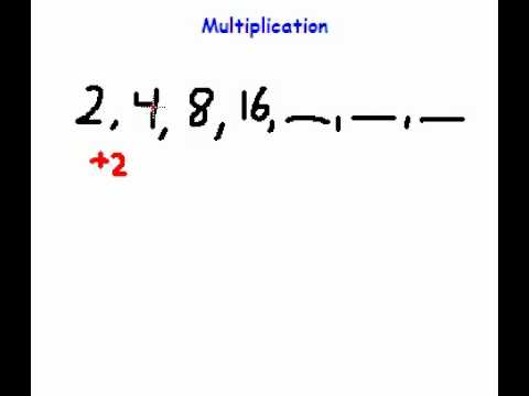 Math Made Easy  Solving Number Sequences