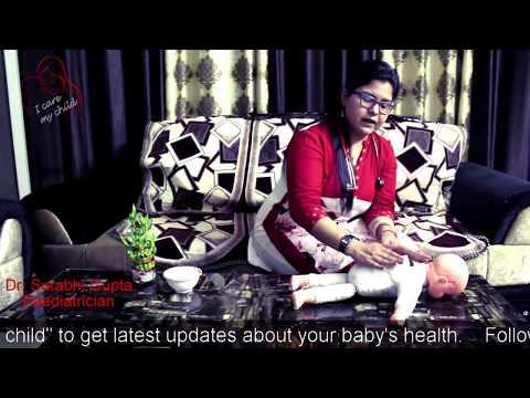 Baby Massage Step By Step In Hindi   कैसे करे छोटे बच्चो की मालिश By- Dr. Surabhi Gupta