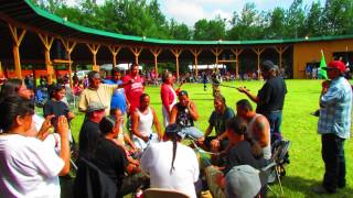 Powerful Pow Wow Drums & Song at Turtle Lake!