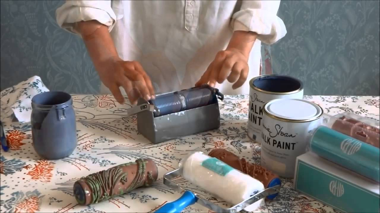 faidate stampa a mano la tua tappezzeria con i rulli