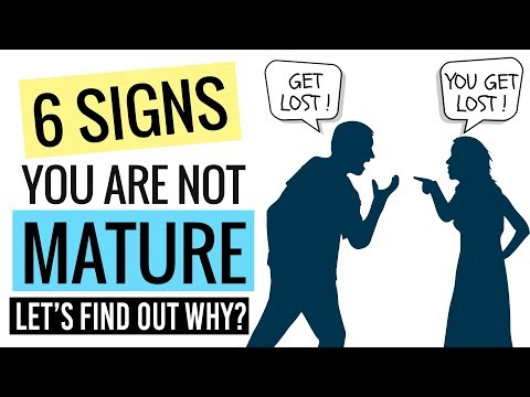 6 Signs You Are Still An IMMATURE PERSON (Hindi) ✔